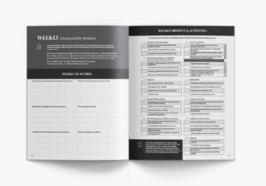 Unslackable planner - Weekly Review Pages